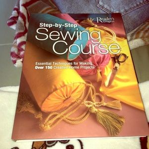 Step by step sewing course 208 pages